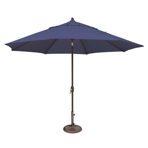 Latest Annabelle Market Umbrellas With Modern & Contemporary Umbrella Replacement Canopy (View 7 of 25)