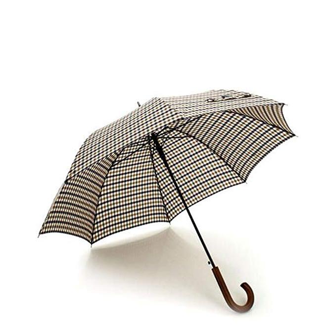 Latest Aquascutum Stick Umbrella Scozzese With Hettie Solar Lighted Market Umbrellas (View 11 of 25)