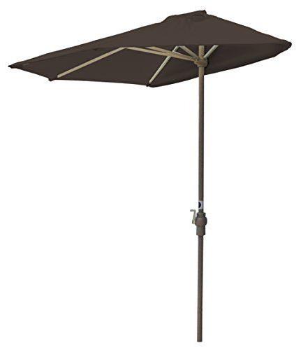 Latest Colburn Half Market Umbrellas Regarding Blue Star Group Off The Wall Brella Sunbrella Half Umbrella, (View 13 of 25)