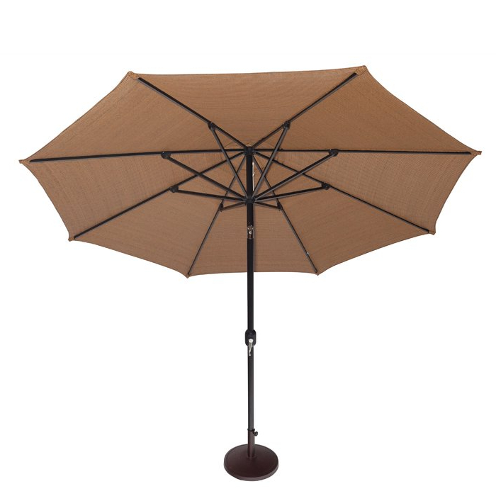 Latest Devansh Market Umbrellas Within 11' Market Umbrella (View 9 of 25)