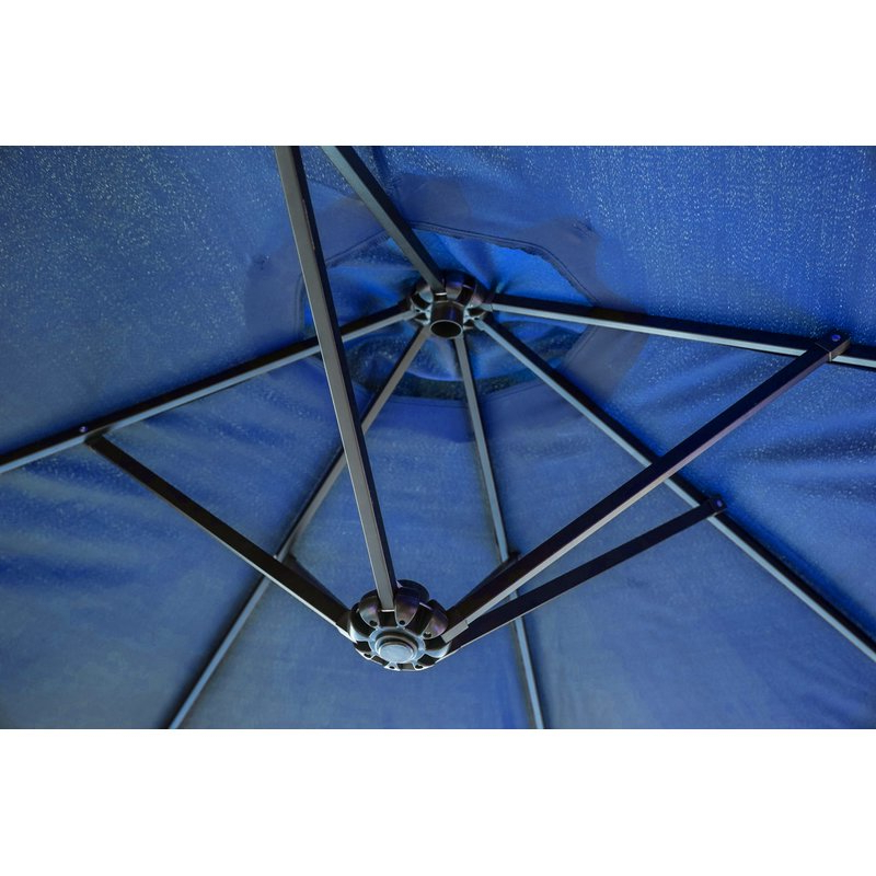 Latest Eisele 9' W X 15' D Rectangular Market Umbrella Regarding Eisele Rectangular Market Umbrellas (View 15 of 25)