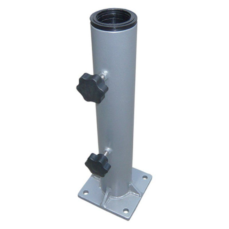 Latest Greencorner 8 X 8 In. Steel Deck Base Mount 2.5 In (View 5 of 25)