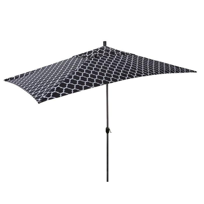 Latest Gries Rectangular Market Umbrellas Within Sherlyn 10' X 6' Rectangular Market Umbrella (View 11 of 25)