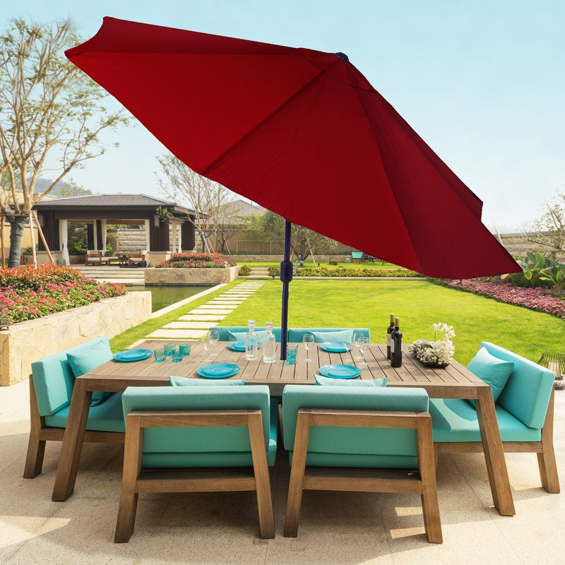 Latest Kelton 10' Market Umbrella With Lorinda Market Umbrellas (View 20 of 25)