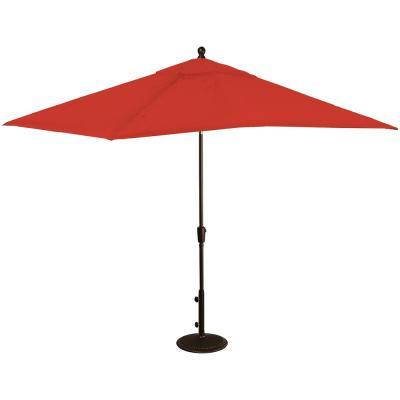 Latest Launceston Rectangular Market Umbrellas In Island Umbrella Adriatic 6.5 Ft. X 10 Ft (View 15 of 25)