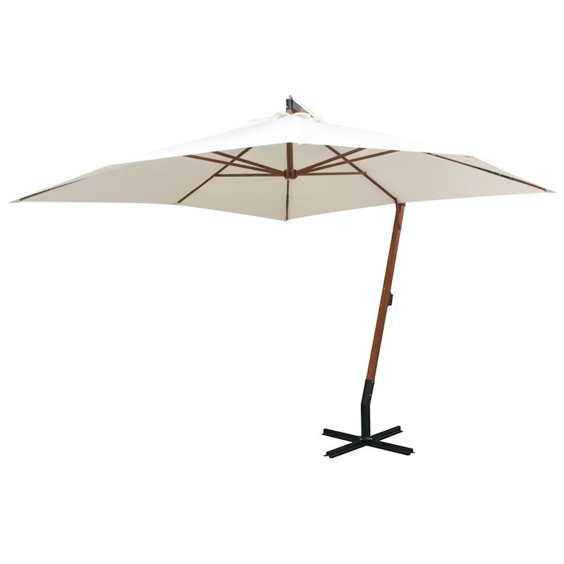 Latest Layout Black And White Cantilever Umbrella – Gopilates For Freda Cantilever Umbrellas (View 14 of 25)