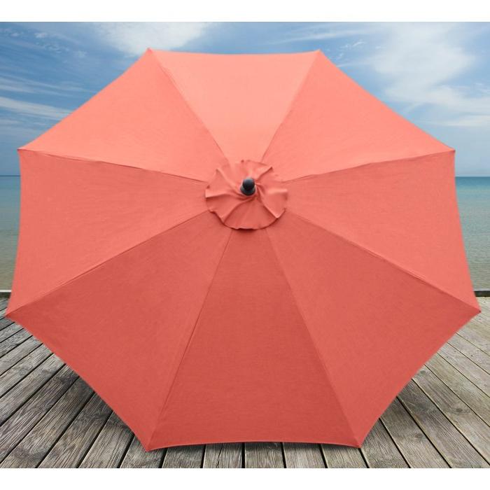 Latest Mucci Madilyn 10' Market Sunbrella Umbrella Throughout Crowland Market Sunbrella Umbrellas (View 14 of 25)