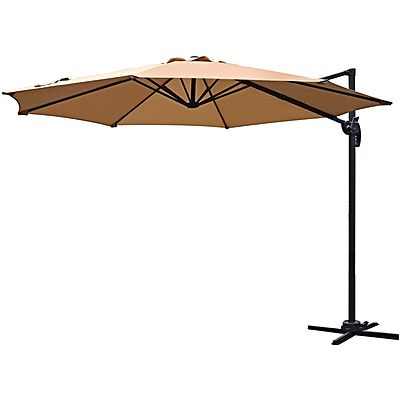 Latest Pau Rectangular Market Umbrellas For Outdoor Furniture You'll Love (View 22 of 25)