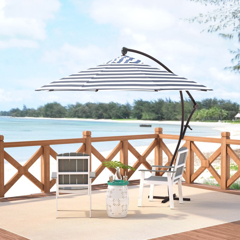 Latest Ryant Cantilever Umbrellas With Ryant 9' Cantilever Umbrella (View 2 of 25)