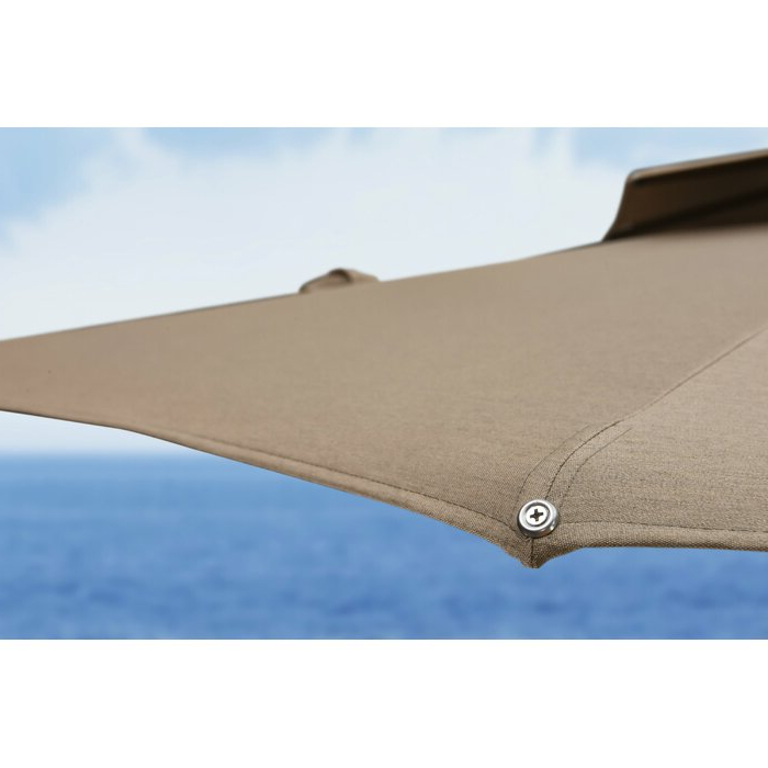 Latest Voss Cantilever Sunbrella Umbrellas Intended For Voss 11' Cantilever Sunbrella Umbrella (View 8 of 25)