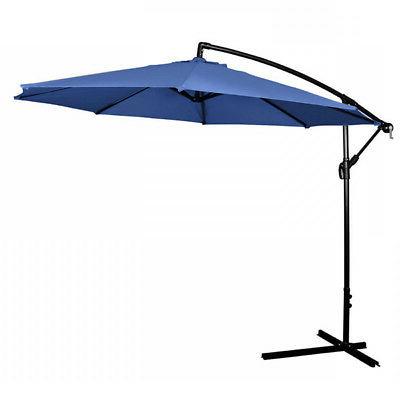 Latitude Run Tallulah Sunshade Hanging Outdoor 10' Cantilever For Famous Tallulah Sunshade Hanging Outdoor Cantilever Umbrellas (View 2 of 25)