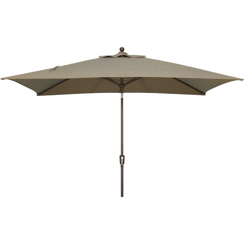 Launceston 10' X 6.5' Rectangular Market Umbrella intended for Most Popular Mullaney Market Umbrellas