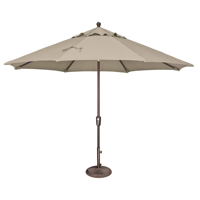 Launceston 11' Market Umbrella Regarding Trendy Launceston Market Umbrellas (View 5 of 25)