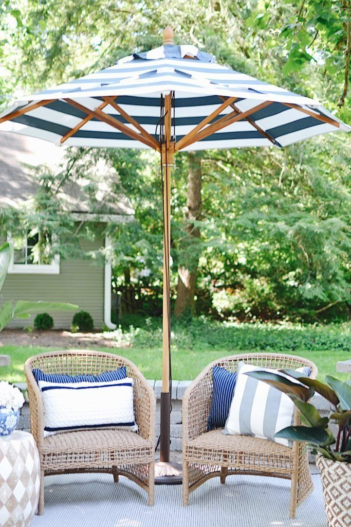 Launceston Rectangular Market Umbrellas With Best And Newest Liselle Seating Collection (View 11 of 25)