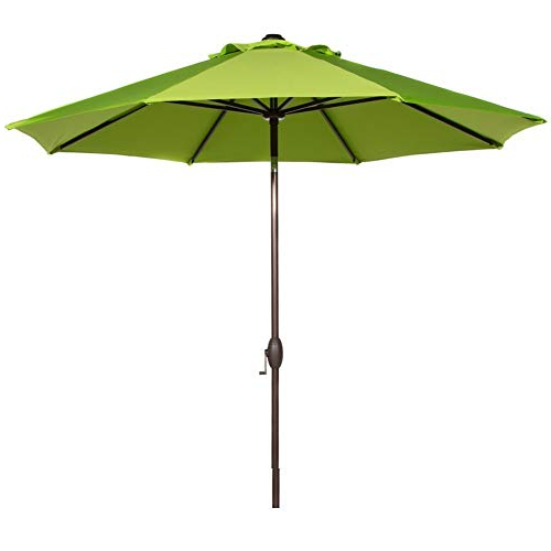 Leachville Market Umbrellas Throughout Popular Market Umbrella 9 Ft: Amazon (View 9 of 25)