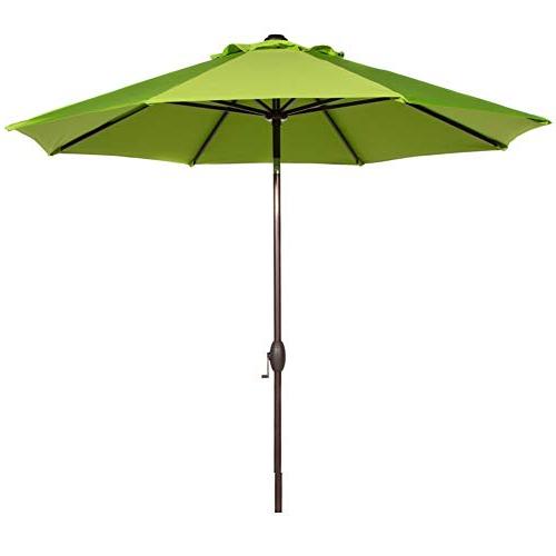 Leachville Market Umbrellas Throughout Popular Market Umbrella 9 Ft: Amazon (View 9 of 25)