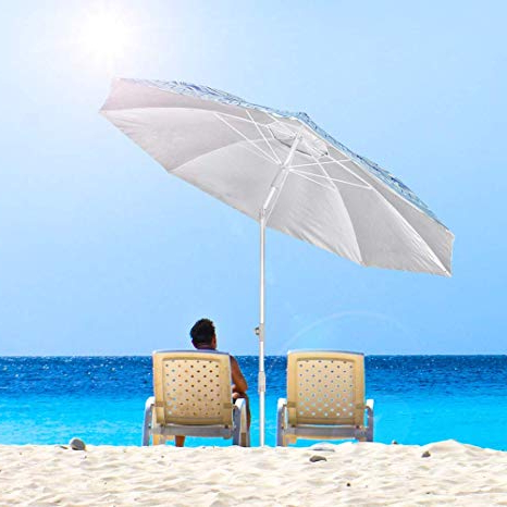 Leasure Fiberglass Portable Beach Umbrellas Throughout Most Popular Snail Beach Umbrella, 7 Ft Sand Anchor With Tilt Aluminum Pole, Portable  Sun Ray Protection Beach Umbrella With Carry Bag For Outdoor Patio (View 16 of 25)
