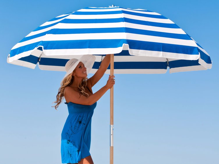Leasure Fiberglass Portable Beach Umbrellas With Most Recently Released The Best Beach Umbrellas You Can Buy – Business Insider (View 9 of 25)