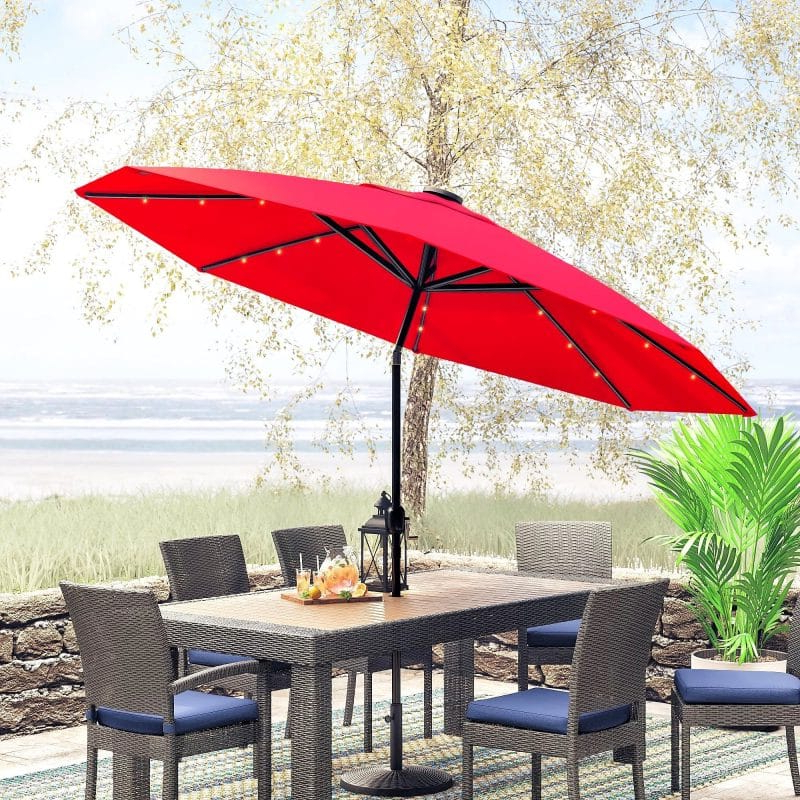 [%List Of The Best Patio Umbrella Ideas To Enjoy This Summer [Photos] With Regard To Best And Newest Jerrell Rectangular Market Umbrellas|Jerrell Rectangular Market Umbrellas For Most Current List Of The Best Patio Umbrella Ideas To Enjoy This Summer [Photos]|Most Recent Jerrell Rectangular Market Umbrellas Within List Of The Best Patio Umbrella Ideas To Enjoy This Summer [Photos]|Most Up To Date List Of The Best Patio Umbrella Ideas To Enjoy This Summer [Photos] In Jerrell Rectangular Market Umbrellas%] (View 21 of 25)