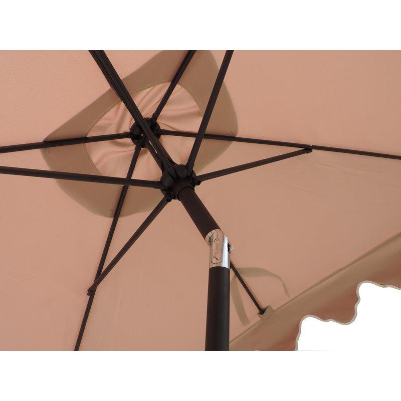 Lonoke Patio 8' X 6' Rectangular Market Umbrella Regarding 2018 Lonoke Patio  Rectangular Market Umbrellas (View 1 of 25)