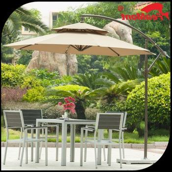 Lonoke Patio  Rectangular Market Umbrellas With Trendy Dongguan Freeman Outdoor Co., Ltd (View 13 of 25)