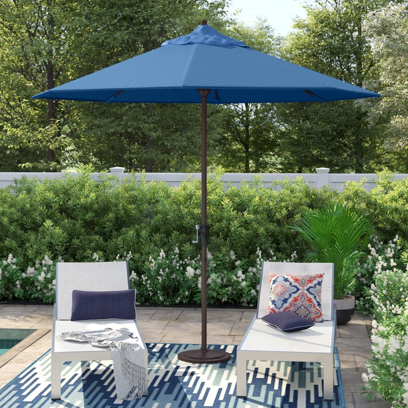 Lorinda 9' Market Umbrella For Recent Winchester Zipcode Design Market Umbrellas (View 10 of 25)