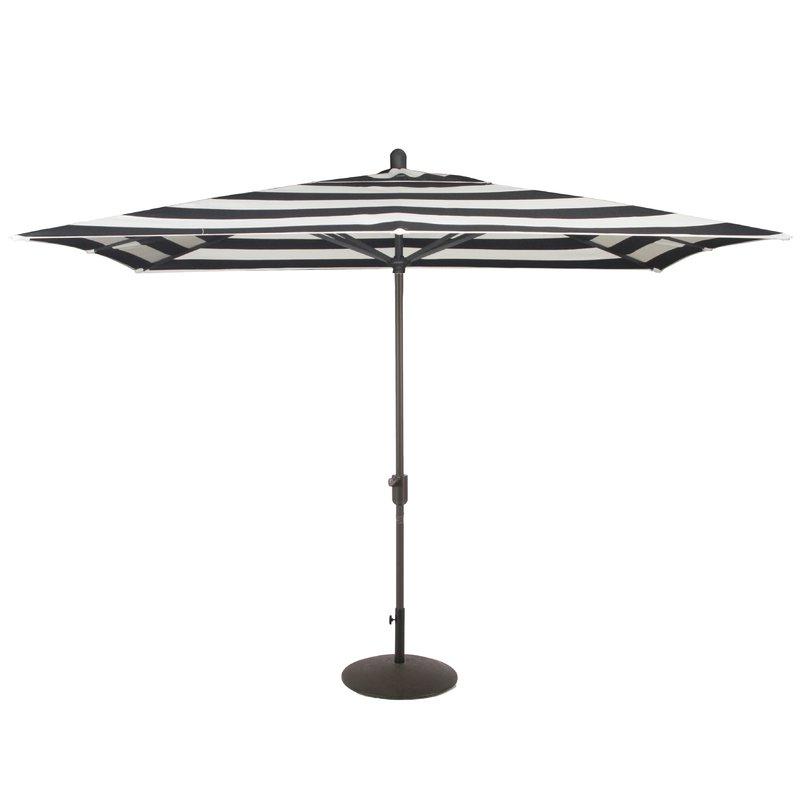 Madalyn Rectangular Market Sunbrella Umbrellas Inside Latest Wieczorek Auto Tilt 10' X (View 2 of 25)