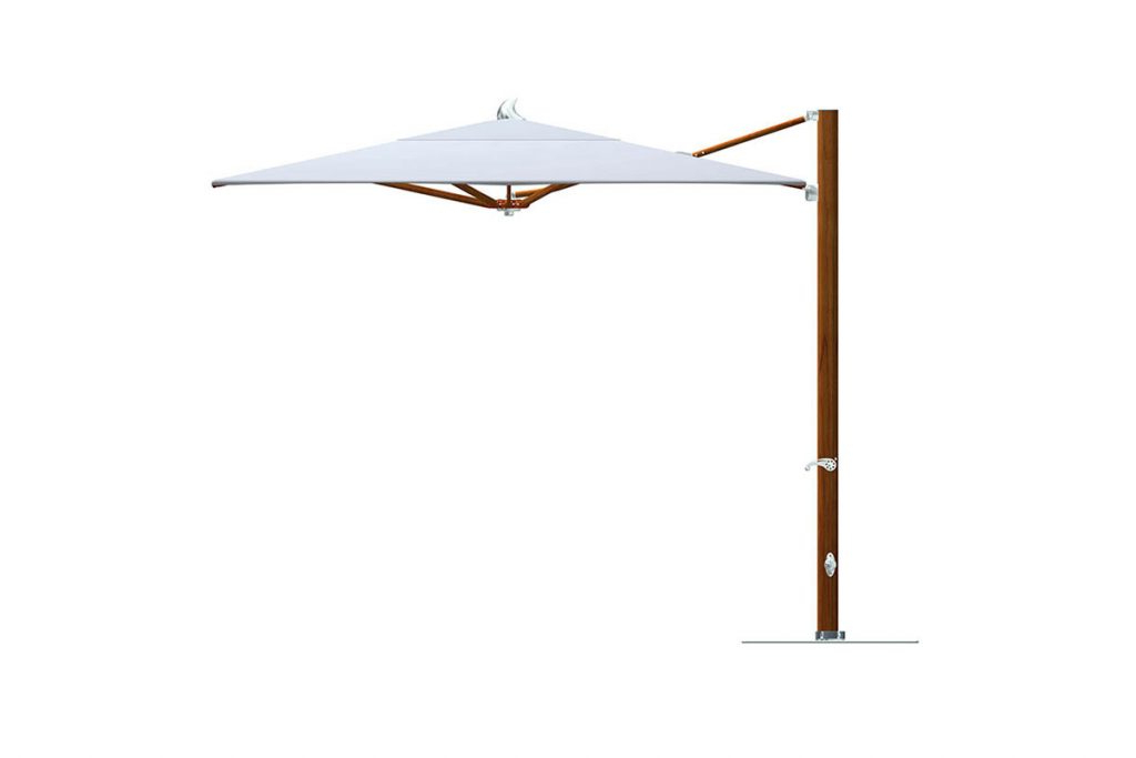Madalyn Rectangular Market Sunbrella Umbrellas Regarding Recent Tuuci Ocean Master Max Cantilever Parasol – Osier Belle (View 12 of 25)