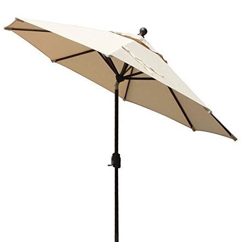 Market Umbrella 9 Ft: Amazon Intended For Famous Leachville Market Umbrellas (View 16 of 25)