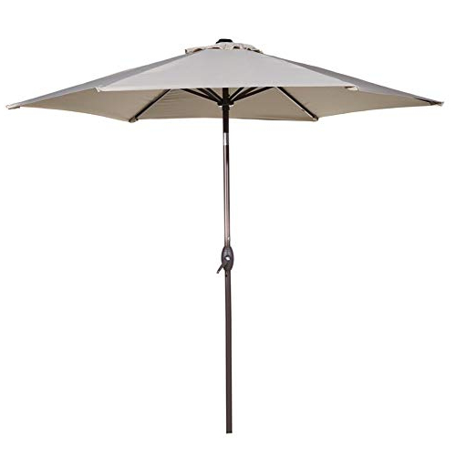 Market Umbrella 9 Ft: Amazon Regarding Preferred Leachville Market Umbrellas (View 8 of 25)