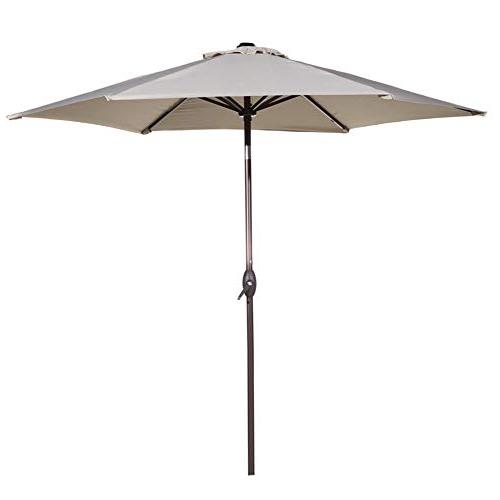 Market Umbrella 9 Ft: Amazon Regarding Preferred Leachville Market Umbrellas (View 8 of 25)
