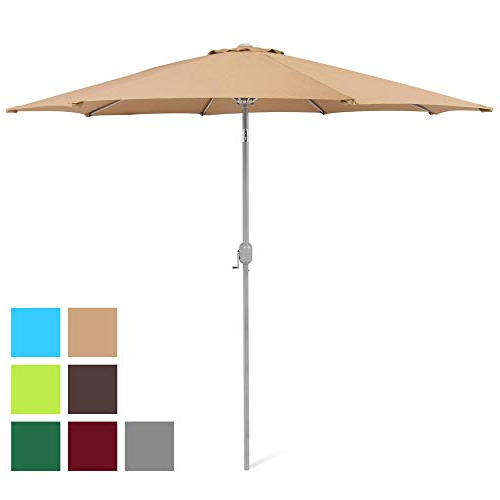 Market Umbrella 9 Ft: Amazon With Preferred Leachville Market Umbrellas (View 17 of 25)