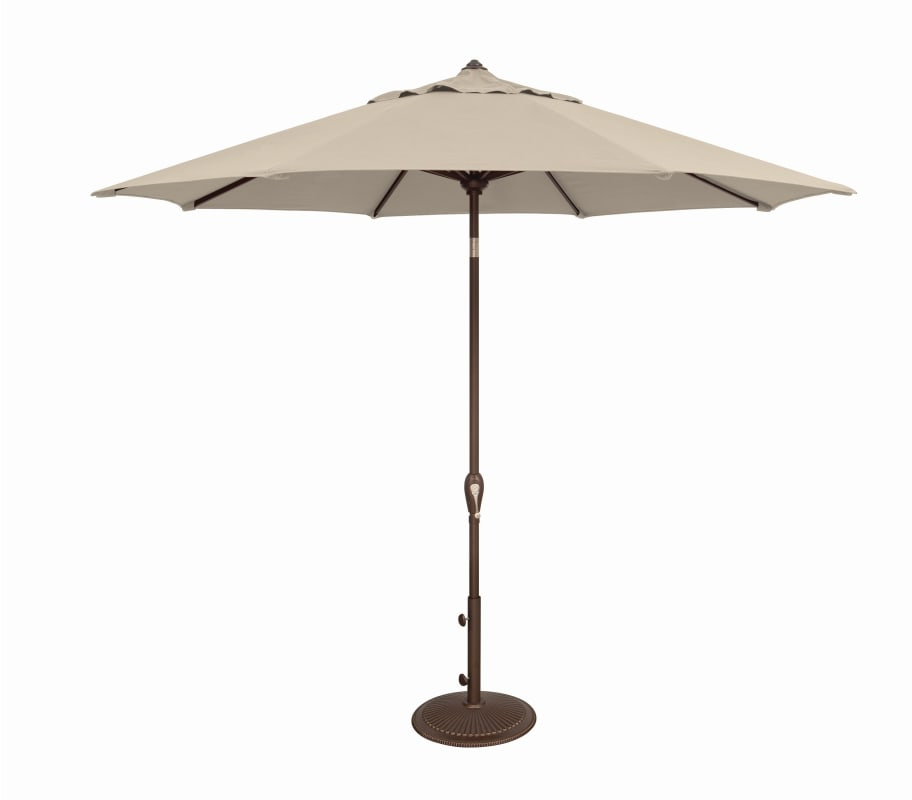 Market Umbrella, Beige, Tilt (View 11 of 25)