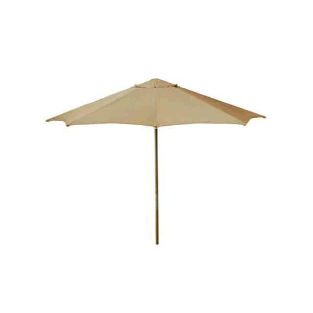 Market Umbrellas Throughout 2017 Market Umbrella 9', Khaki (View 10 of 25)