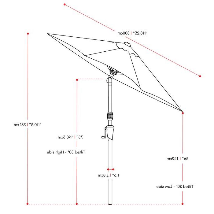 Markley Market Beach Umbrellas For Preferred Markley Market Beach Umbrella (View 9 of 25)
