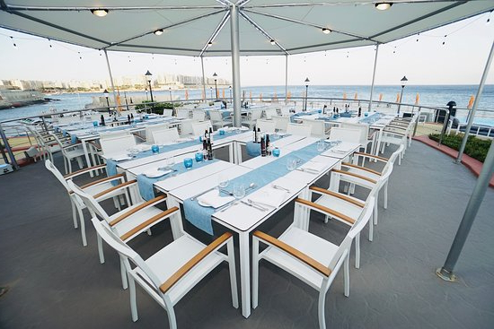 Merkanti Beach Club Restaurant  The Catch, Saint Julian's – Menu Intended For Most Current Julian Beach Umbrellas (View 21 of 25)