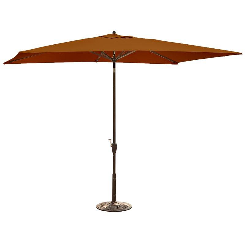 Monty Half Market Umbrellas Regarding 2017 Bonview 10' X  (View 13 of 25)