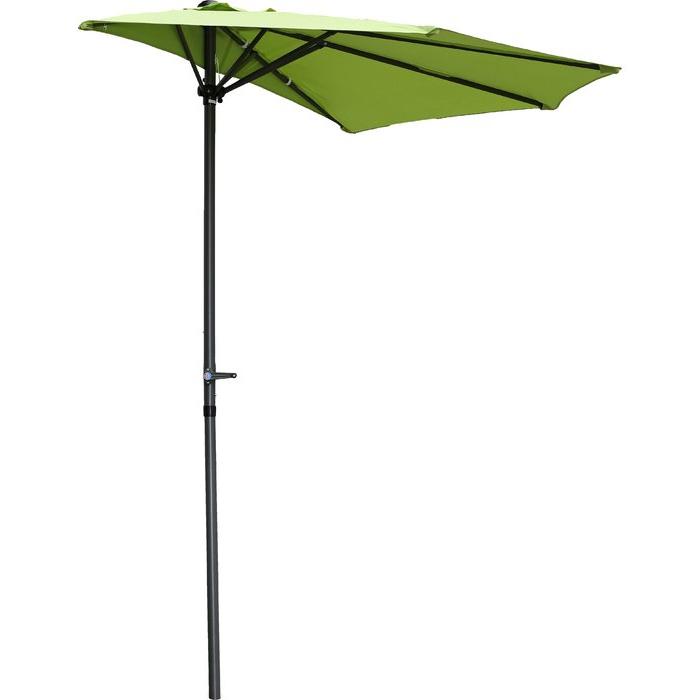Monty Half Market Umbrellas With Regard To Well Known Dade City North 9' Half Market Umbrella (View 15 of 25)
