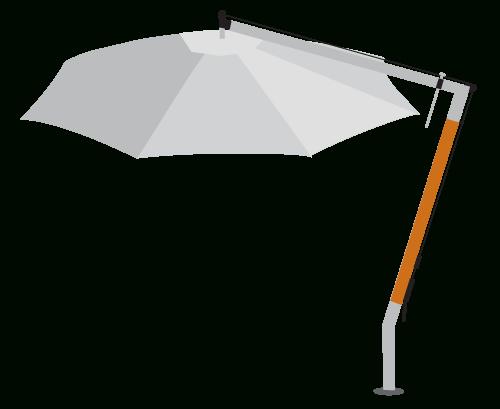 Most Current Cantilever Patio Umbrella – Large Outdoor Square & Round Umbrellas In Cora Square Cantilever Umbrellas (View 11 of 25)