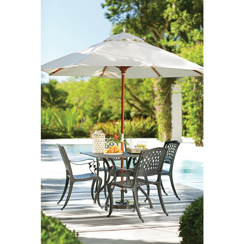 Most Current Caravelle Square Market Sunbrella Umbrellas Within Mullaney 9' Market Sunbrella Umbrella (View 22 of 25)