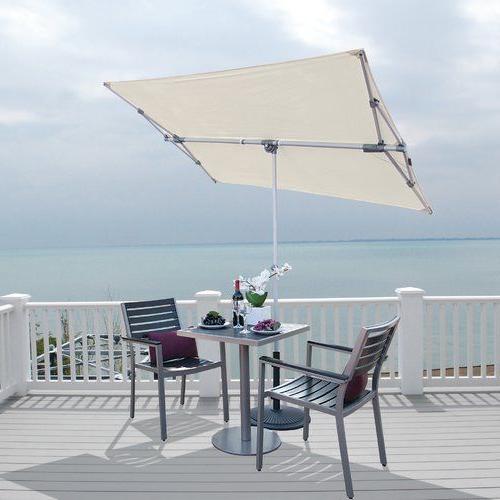 Most Current Cordelia Rectangular Market Umbrellas With Regard To Found It At Allmodern – Federico 5' X 7' Rectangular Market Umbrella (View 19 of 25)