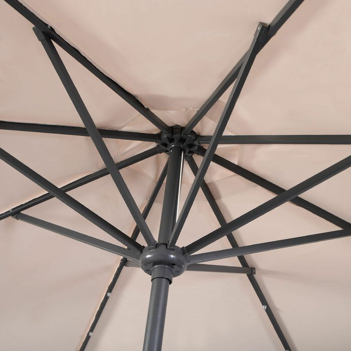 Most Current Fairford 10' Market Umbrella Throughout Fairford Market Umbrellas (View 8 of 25)