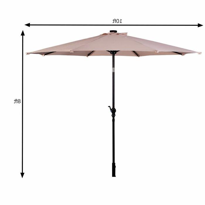 Most Current Fairford Market Umbrellas Intended For Fairford 10' Market Umbrella (View 4 of 25)