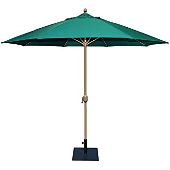 Most Current Featherste Market Umbrellas Within Amazon : Tropishade 11' Sunbrella Patio Umbrella With Royal Blue (View 4 of 25)