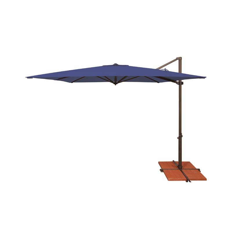 Most Current Grote Liberty Aluminum Square Cantilever Umbrellas Within Cora  (View 18 of 25)