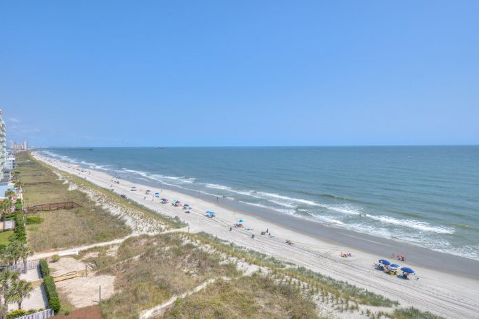 Most Current Hyperion Towers 702 – North Myrtle Beach – Myrtle Beach – South Carolina Regarding Hyperion Beach Umbrellas (View 20 of 25)