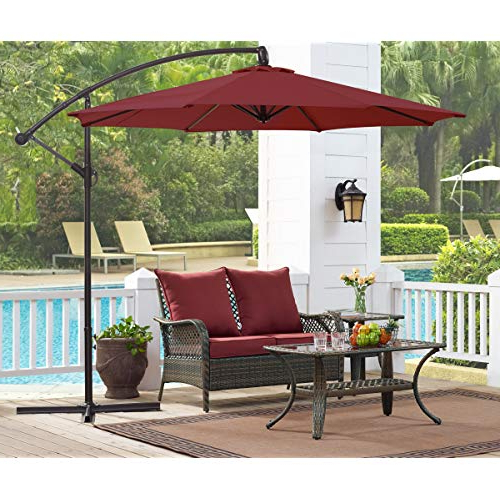Most Current Karr Cantilever Umbrellas Intended For Patio Umbrella Parts: Amazon (View 16 of 25)