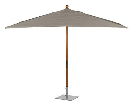 Most Current Oxford Garden Sunbrella 10 Foot Rectangular Market Umbrella, Hunter Green Intended For Fordbridge Rectangular Market Umbrellas (View 16 of 25)