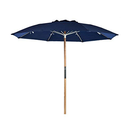 Most Popular Alyson Joeshade Beach Umbrellas Regarding 75 Ft Avalon Collection Fiberglass Commercial Grade Beach Umbrella (View 6 of 25)