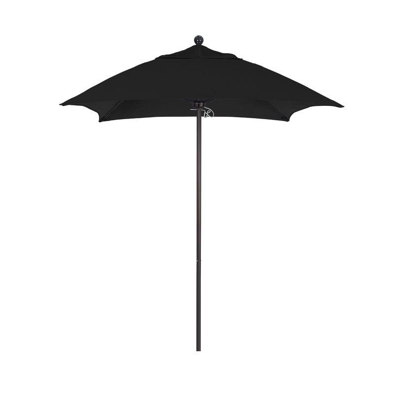 Most Popular Benson 6' Square Market Sunbrella Umbrella Within Caravelle Market Umbrellas (View 17 of 25)